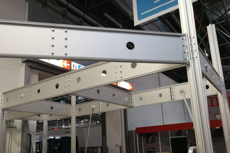 Messebauer Systemstand Aufbau Abbau